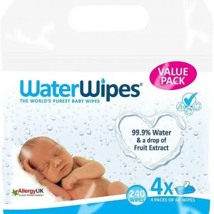 Waterwipes salviette 99,9% acqua confezione da 240