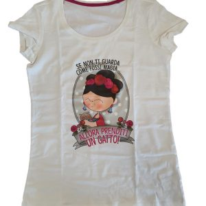 "Le Pupette by Arcadia t-shirt ""gatto"""