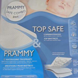 AirCuddle materassino prammy safe-combo 2in1 sc-nav