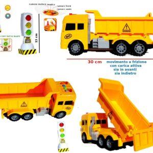 ODG Veicolo da Cantiere, Mezzo da Lavoro a Frizione, Betoniera, Trasporto Terra, Escavatore, Camion